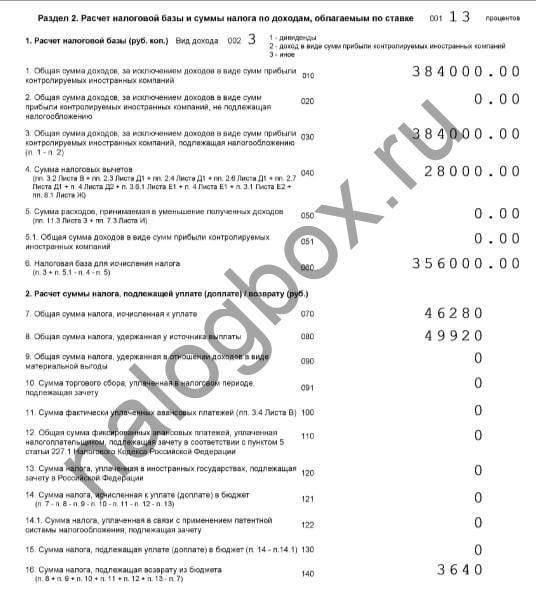 подтверждающие документы для двойного вчета