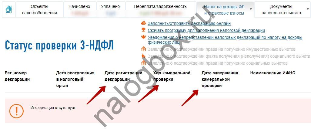 Сроки рассмотрения налоговой декларации 3 ндфл за мои документы обнинск регистрация ооо